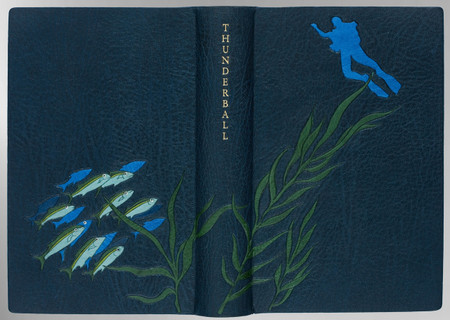 Thunderball by Ian Fleming, Signed Sangorski & Sutcliffe Binding