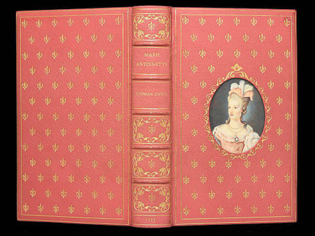 """Marie Antoinette by Martin Zweig,  """"Cosway Style Binding"""" by Bayntun - Rivière"""
