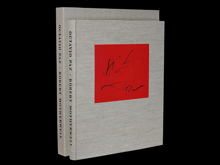 Three Poems by Octavio Paz, Illustrated by Robert Motherwell, Signed Limited Edition