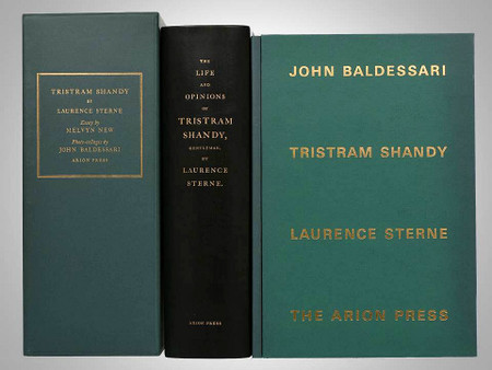 Tristram Shandy by Laurence Stern, Illustrated by John Baldessari, Arion Press