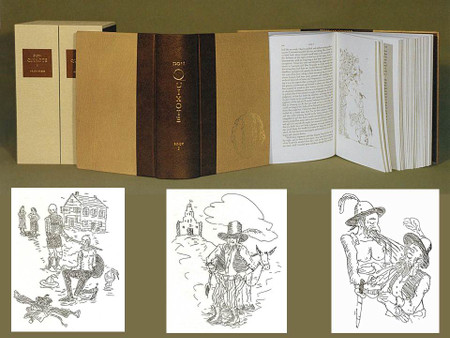 Don Quixote, Illustrated by William T. Wiley, Arion Press Limited Editions, 38 of 400