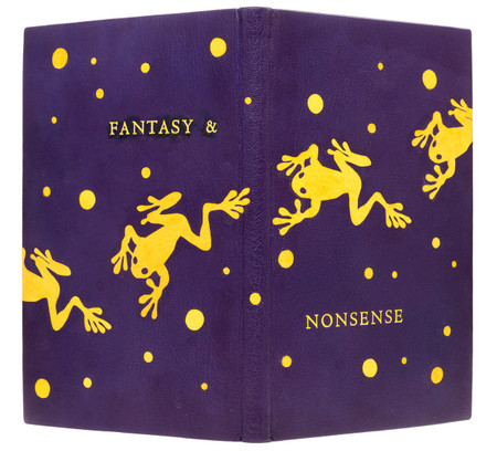 Fantasy & Nonsense by James Whitcomb Riley, Unique Binding by Scott Kellar
