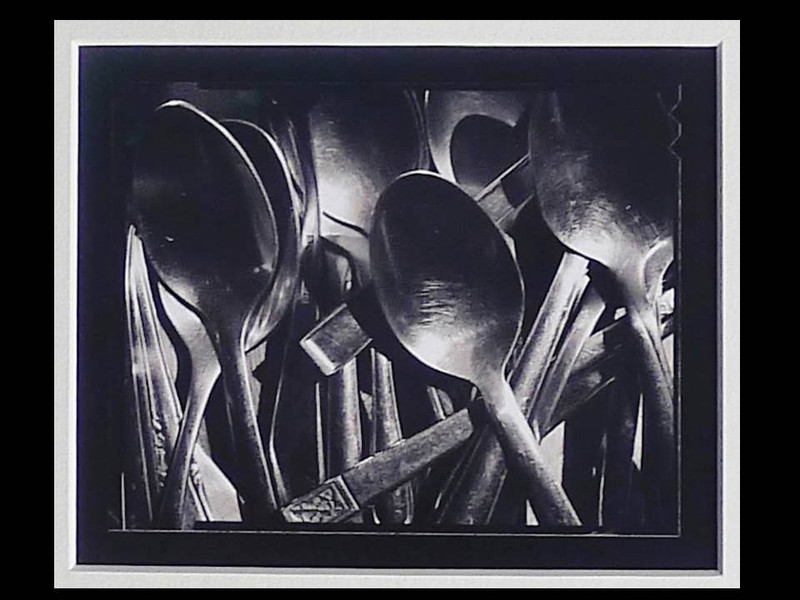 Michael Kenna: Tea Spoons 1995, Signed Silver Gelatin Print with Book