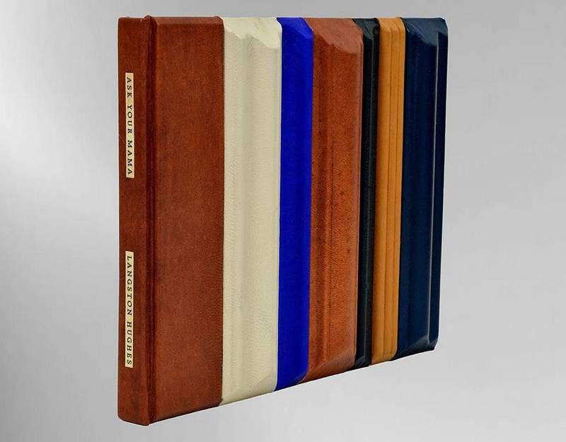 Ask Your Mama by Langston Hughes, Unique Fine Binding by Richard Tuttle