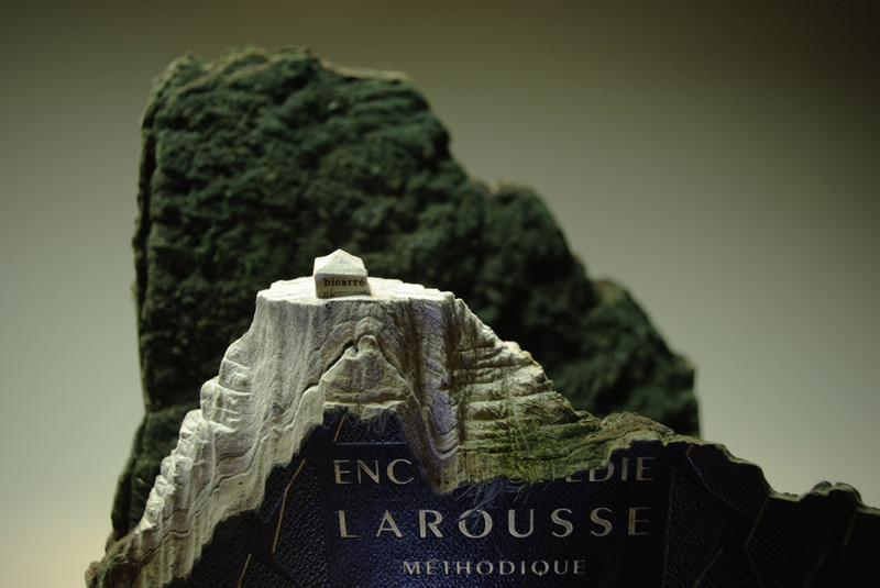 Guy Laramée: Larousse Methodique, Unique Book Sculpture