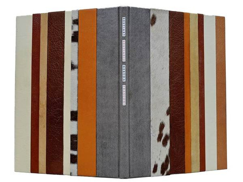 Bestiary/Bestiario by Neruda and Frasconi, Unique Binding by Richard Tuttle