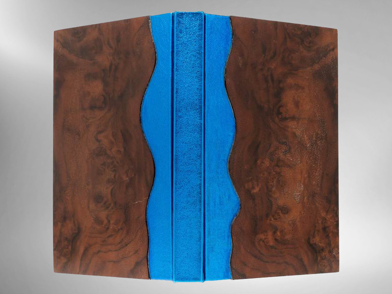 A River Runs Through It by Norman Maclean, Unique Binding by Richard Tuttle
