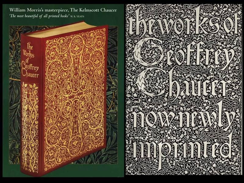 The Kelmscott Press's The Works of Geoffrey Chaucer, Folio Society