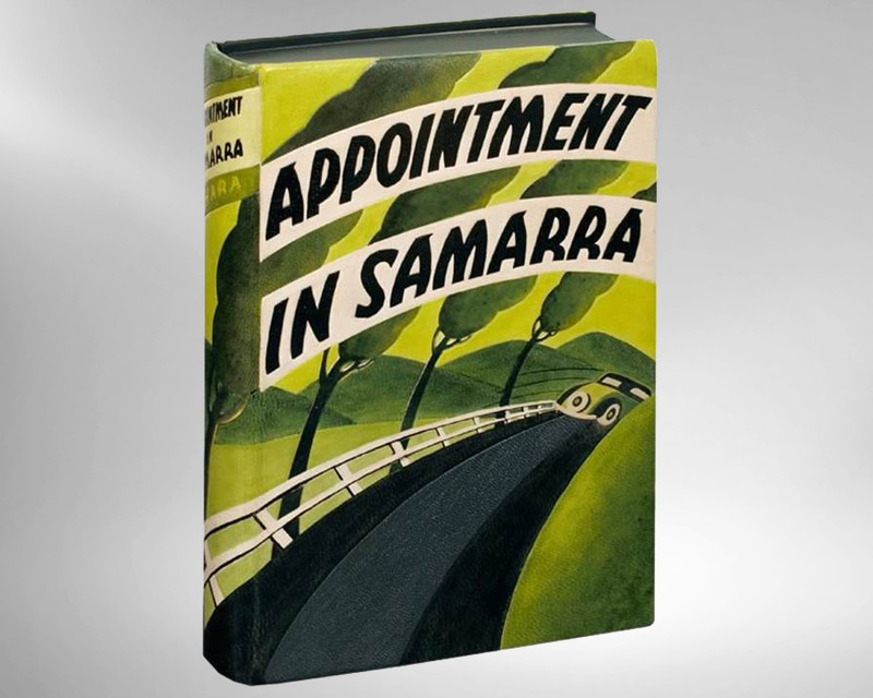 Appointment in Samarra by John O'Hara, 1934, 1st Edition, Unique Binding