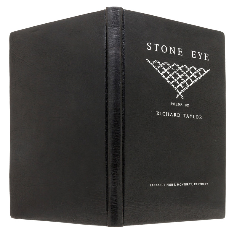 Stone Eye, Signed Limited Edition, Exhibition Binding by Constance Wozny