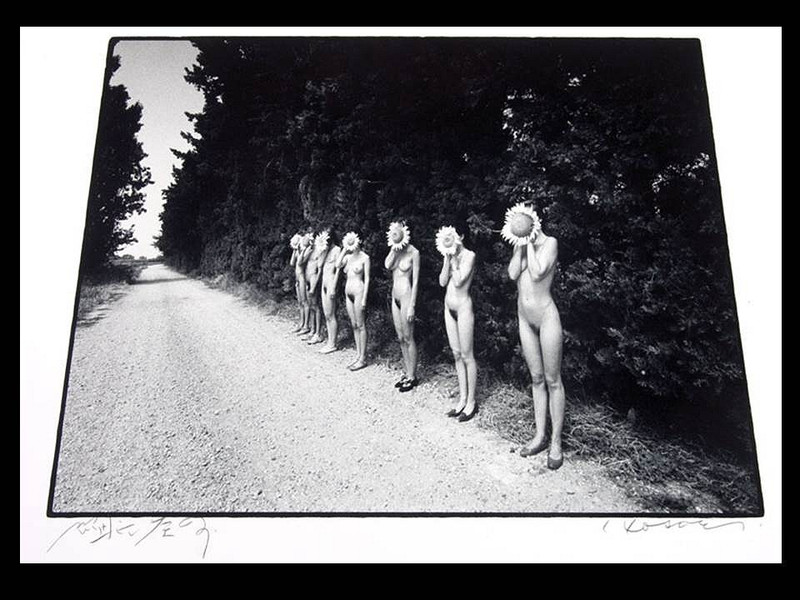 Eikoh Hosoe: Sunflower Children, Signed Silver Gelatin Print