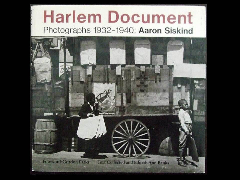 Harlem Document by Aaron Siskind, First Edition