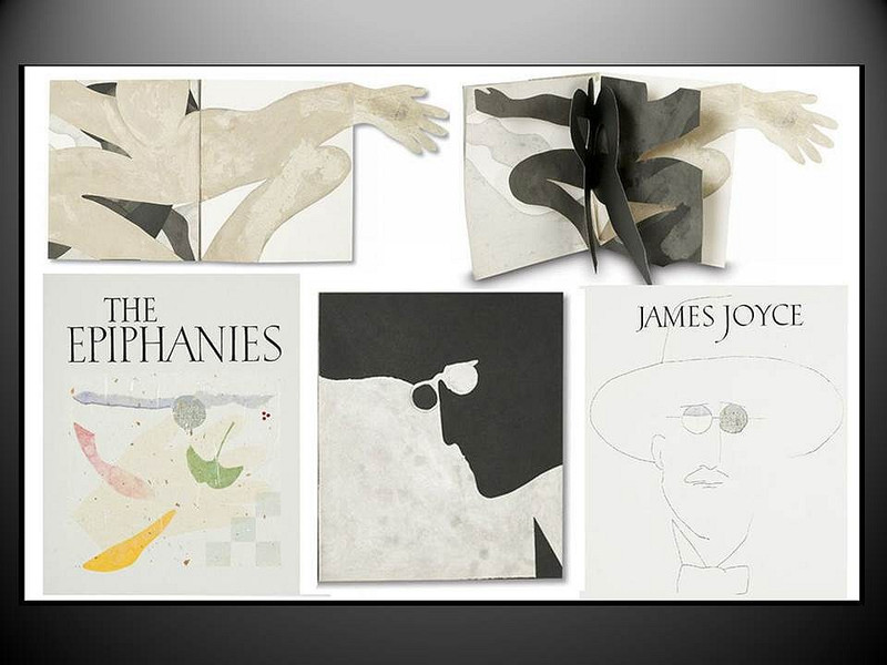 The Epiphanies by James Joyce, Original Art by Susan Weil and Van Dyke