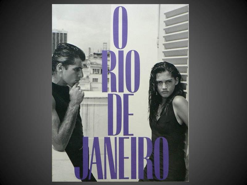 O Rio de Janeiro by Bruce Weber, Unique Signed First Edition Photobook