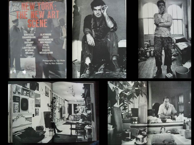 New York: The New Art Scene by Ugo Mulas, First Edition
