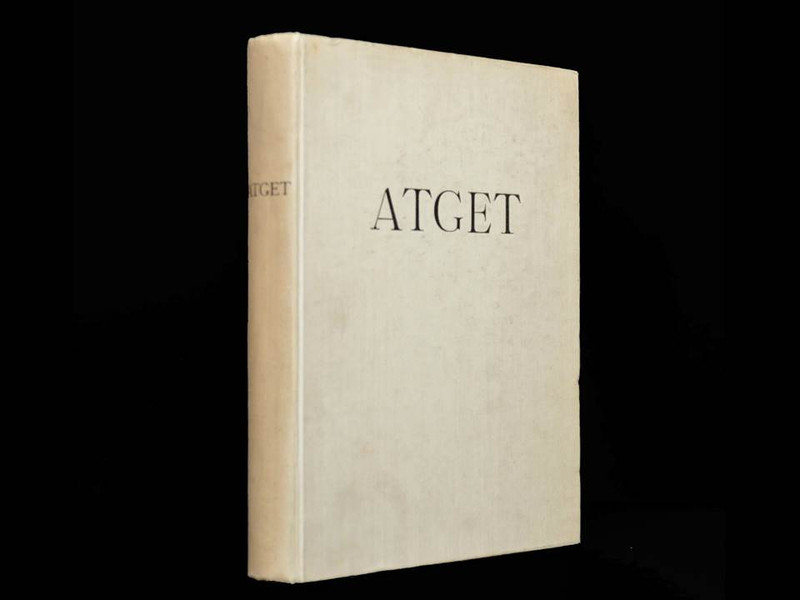 Lichtbilder (Photographe de Paris) by Eugene Atget, First Edition