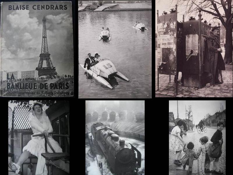 La Banlieue de Paris by Blaise Cendrars and Robert Doisneau, First Edition