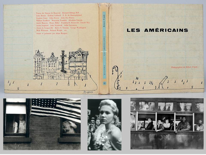 Les Américains by Robert Frank, 1958, True First Edition, First Printing