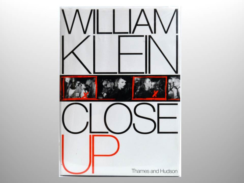 Close Up by William Klein, Signed First Edition