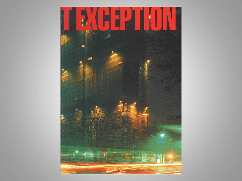 Rule Without Exception by Lewis Baltz, Signed First Edition, 1991