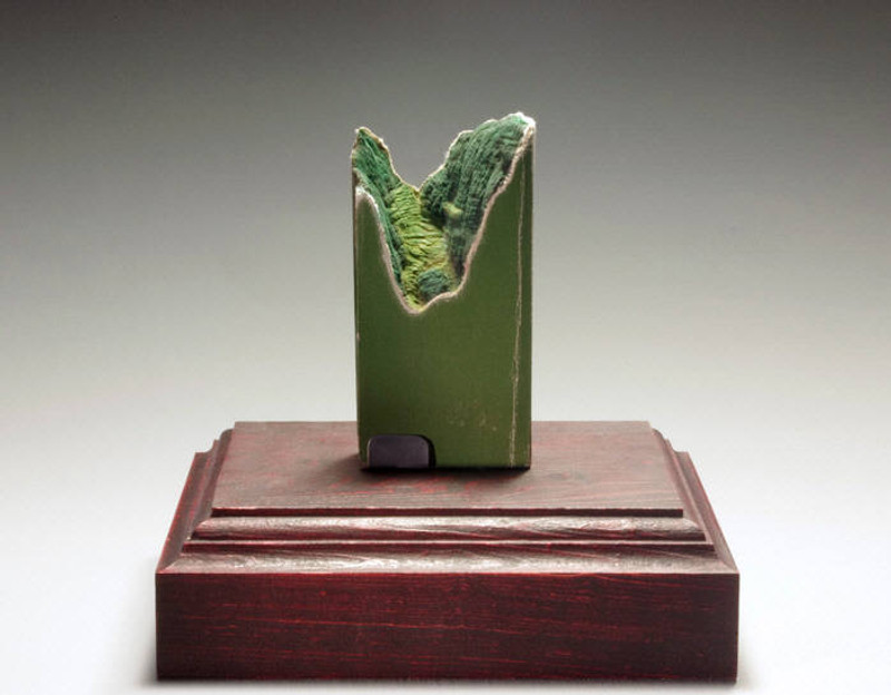 Guy Laramée: Chinese Medical Glossary, Unique Book Sculpture