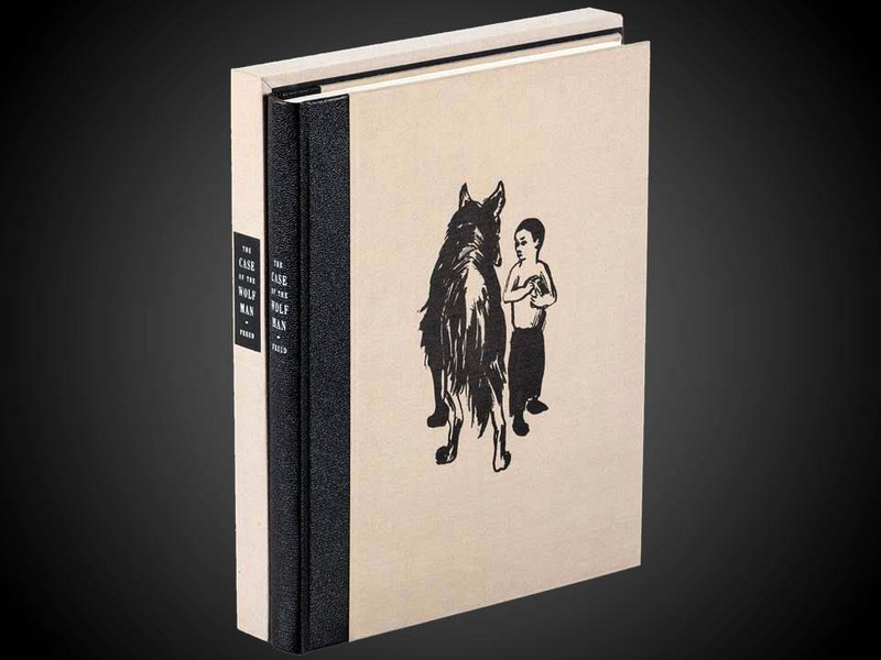 The Case of the Wolf-Man, Arion Press, Illustrated and Signed by Jim Dine
