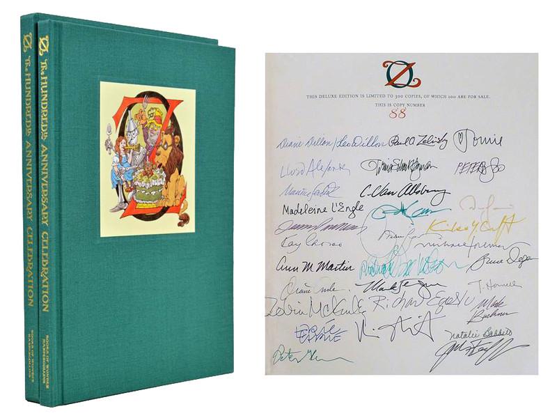 Oz: The 100 Year Celebration, Signed by 30 including Maurice Sendak, 88 of 100