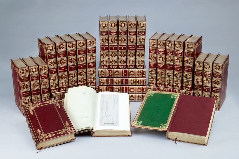 The Writings of Charles Dickens, 32 Volumes, 1894, Number 1 of 500