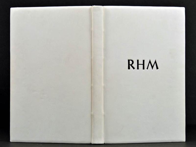 RHM: Robert Hunter Middleton, Unique Fine Leather Binding by Scott Kellar