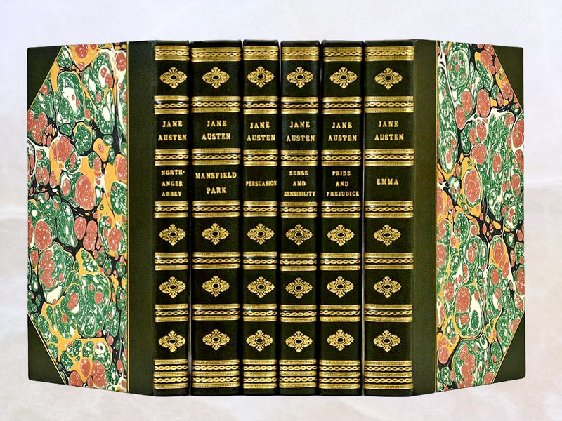 The Novels of Jane Austen, First Chawton Edition, 1948, Custom Sims Bindings