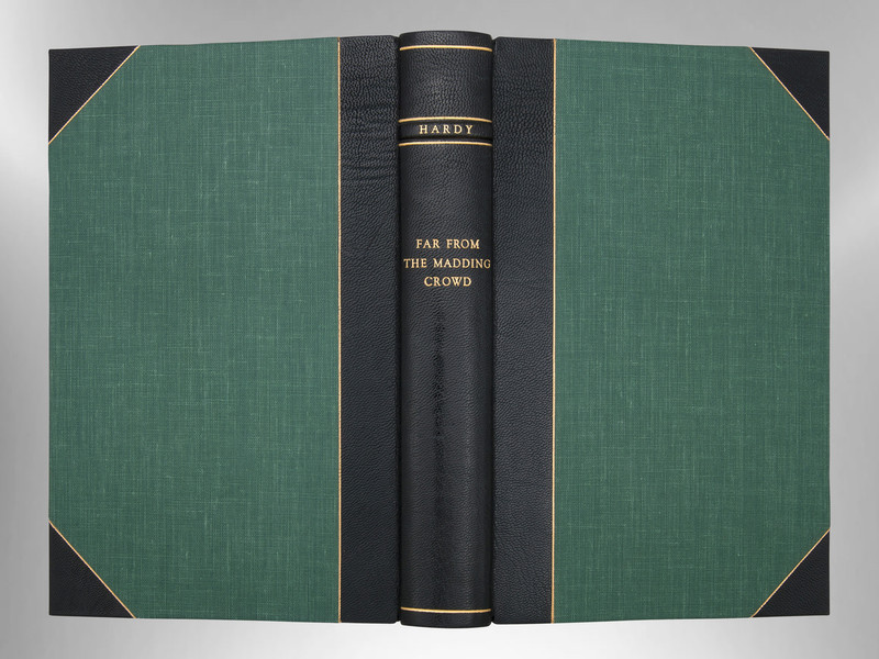 Far From the Madding Crowd by Thomas Hardy, Signed Harcourt Binding