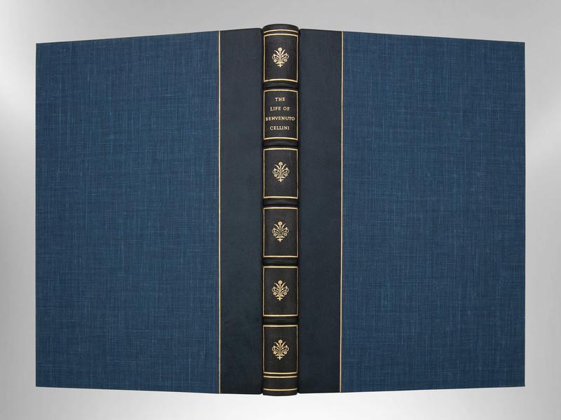 The Life of Benvenuto Cellini, Signed Custom Harcourt Binding