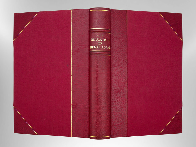 The Education of Henry Adams: An Autobiography, Signed Harcourt Binding