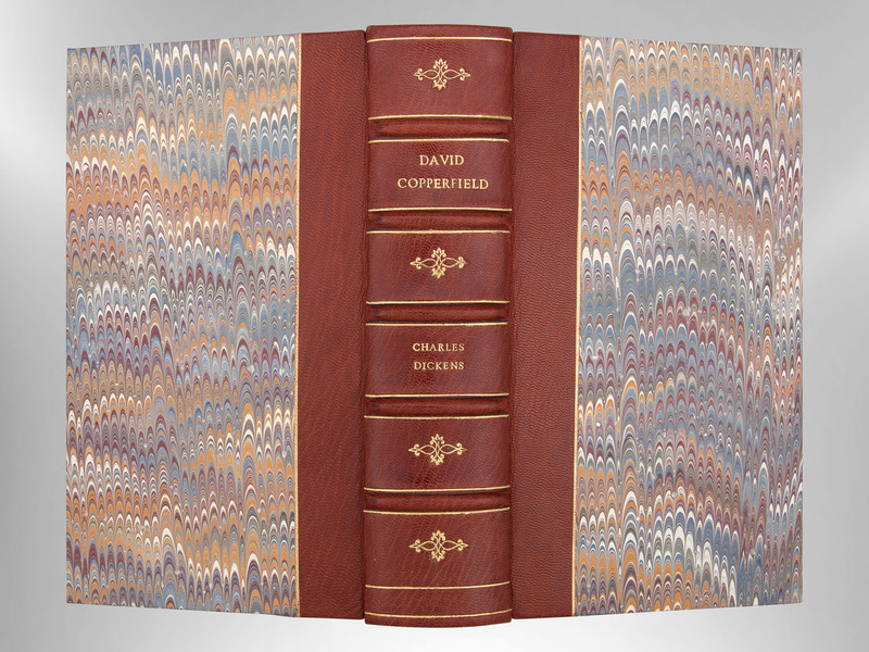 David Copperfield by Charles Dickens, Illustrated by Phiz, Custom Binding