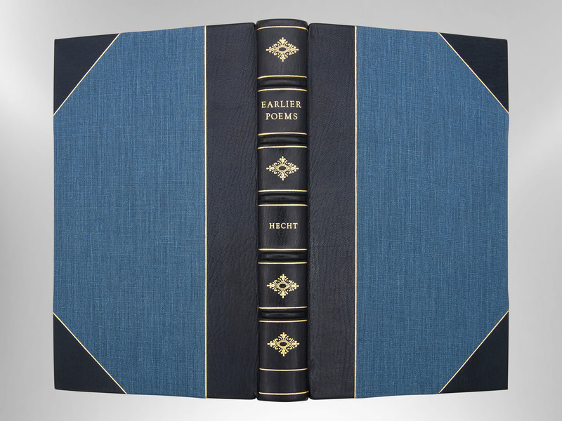 Collected Earlier Poems by Anthony Hecht, First Edition, Custom Binding