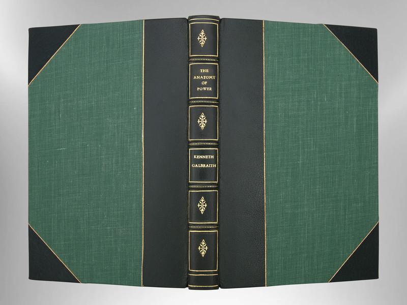 The Anatomy of Power by John Kenneth Galbraith, Custom Harcourt Binding