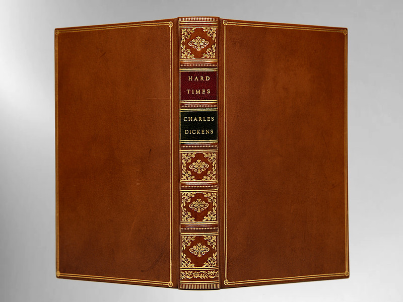 Hard Times for These Times by Charles Dickens, Custom Sims Binding