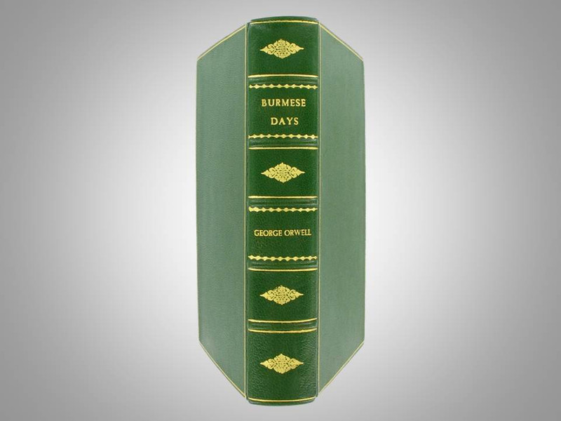 Burmese Days by George Orwell, 1935, 1st British Edition, Custom Leather Binding