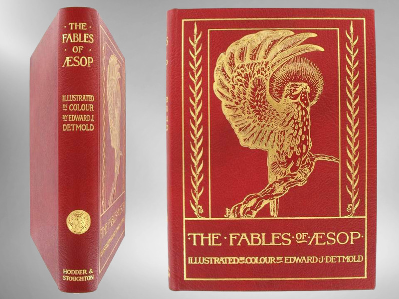 The Fables of Aesop, Illustrated by E. J. Detmold, Limited Edition 6 of 500