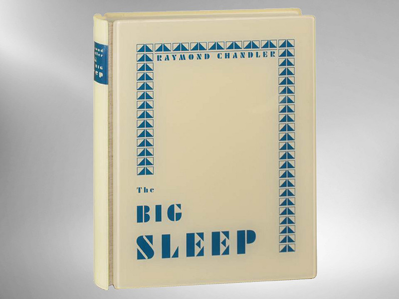 The Big Sleep by Raymond Chandler, 1986, Arion Press, Signed Limited Edition