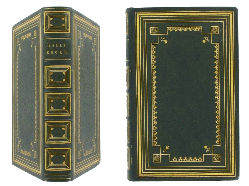 Lalla Rookh: An Oriental Romance by Thomas Moore, 1846, Custom Binding