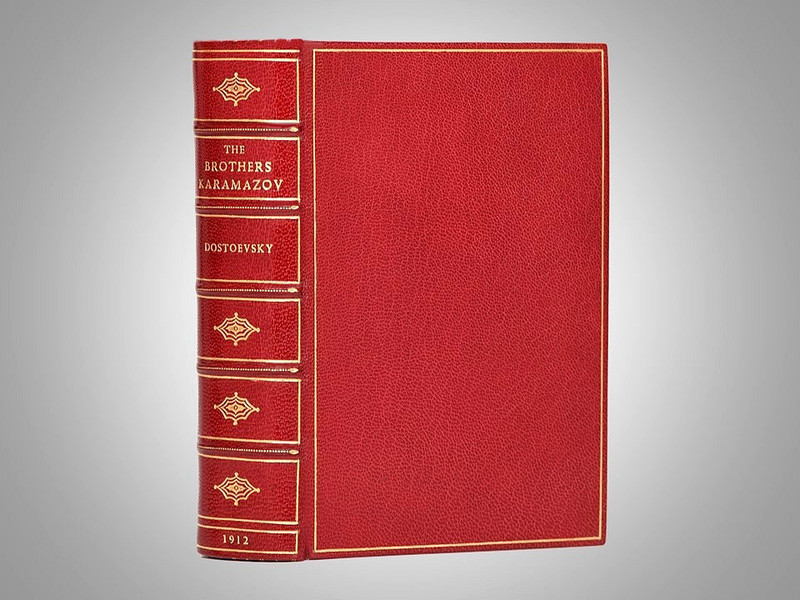 The Brothers Karamazov by Fyodor Dostoevsky, 1912, First American Edition