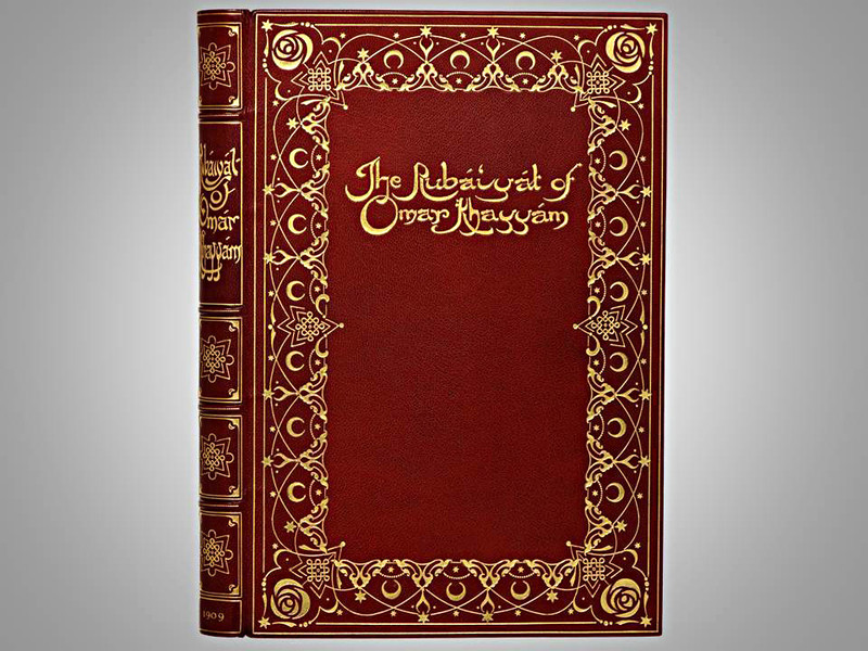 The Rubáiyát of Omar Khayyám, 1909, Illustrated by Willy Pogany,  Morrell Binding