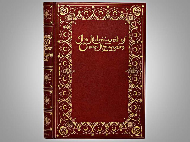 The Rubáiyát of Omar Khayyám, 1909, Illustrated by Willy Pogany,  Morrell Binding
