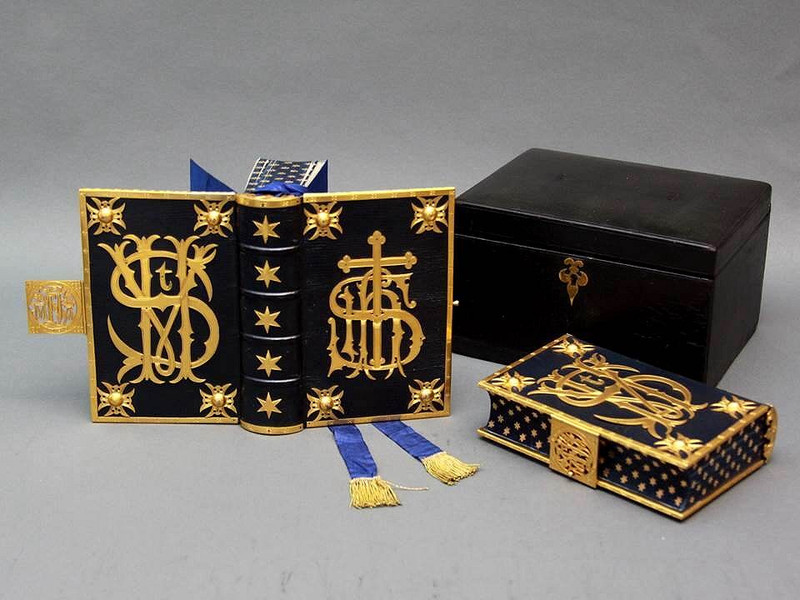The Holy Bible and Book of Common Prayer, Unique Leather and Brass Bindings