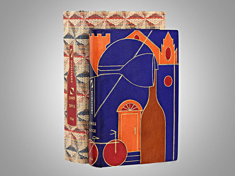 Dubliners by James Joyce, First Edition, Unique Binding by Jamie Kamph