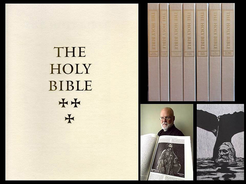 Barry Moser: The Pennyroyal Caxton Holy Bible,  7 Volumes, Deluxe Edition, 31 of 50