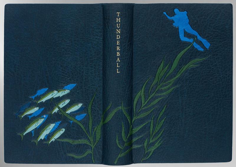 Thunderball by Ian Fleming, Signed Sangorski & Sutcliffe Binding
