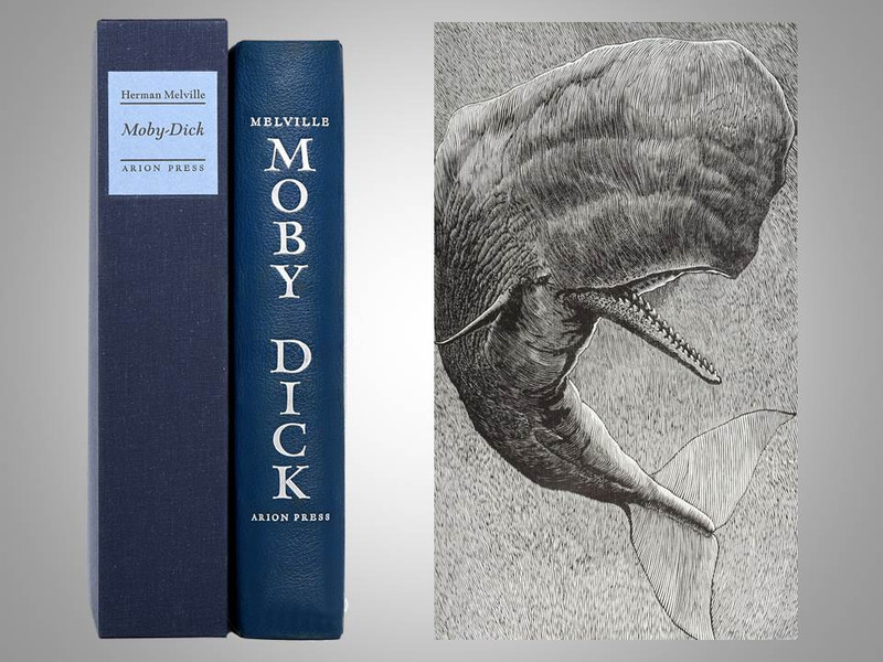 Moby-Dick by Herman Melville, Illustrated by Barry Moser, Arion Press, 1979