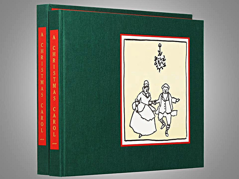 A Christmas Carol by Charles Dickens, Arion Press, Signed Limited Edition, 71 of 200